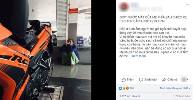 Quặn lòng với câu chuyện người mẹ khắc khổ bị con quát mắng ngay tại cửa hàng xe vì khuyên: Con mua xe rẻ để mẹ dễ trả góp - Ảnh 2.