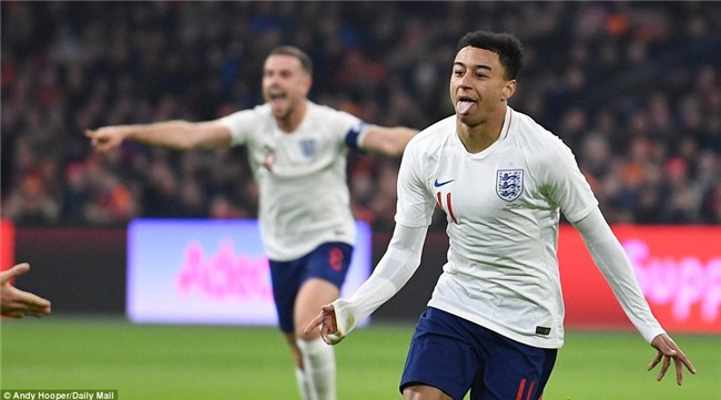Sao trẻ Man Utd ghi bàn đầu tiên cho tuyển Anh - Ảnh 3.