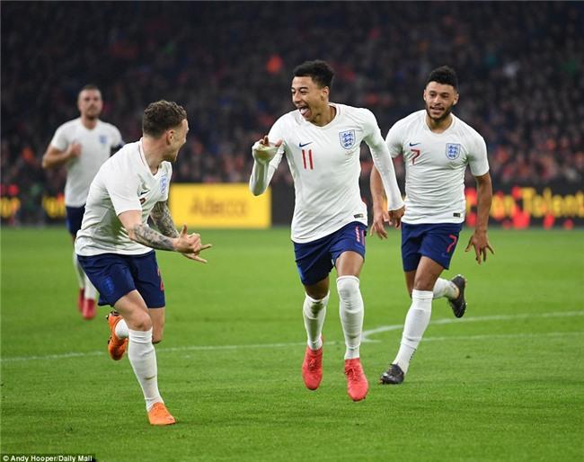 Sao trẻ Man Utd ghi bàn đầu tiên cho tuyển Anh - Ảnh 5.