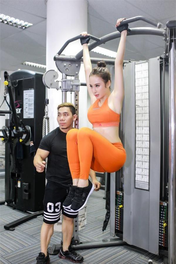 Clip Angela Phương Trinh tập gym quá lố gây tranh luận - Ảnh 7.