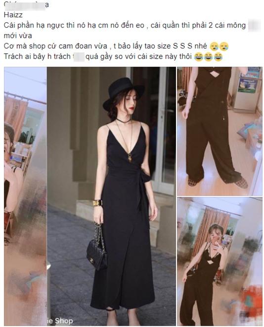 Đặt mua váy hot girl trên mạng, cô gái cao gần 1m6 kêu trời vì được ship cho bao tải, ngực tụt đến tận eo - Ảnh 1.