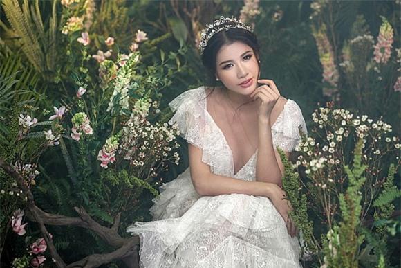 Siêu mẫu trang trần,diễn viên trang trần,trang trần làm cô dâu