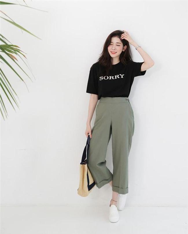 cat legging va quan jeans di, 2018 phai mac quan culottes moi chuan! - 2