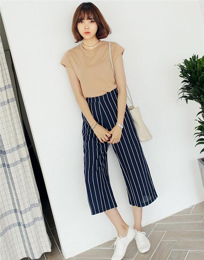 cat legging va quan jeans di, 2018 phai mac quan culottes moi chuan! - 5