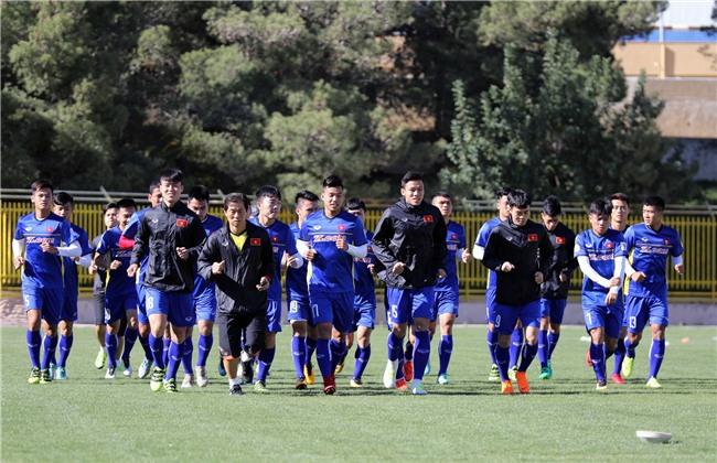 HLV Park Hang Seo yêu cầu các học trò hạ nhiệt trước trận đấu Jordan - Ảnh 1.