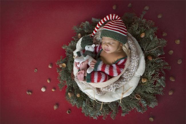 Ngất ngây với chùm ảnh những em bé sơ sinh cuộn tròn say ngủ - Ảnh 21.