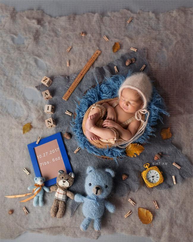 Ngất ngây với chùm ảnh những em bé sơ sinh cuộn tròn say ngủ - Ảnh 24.