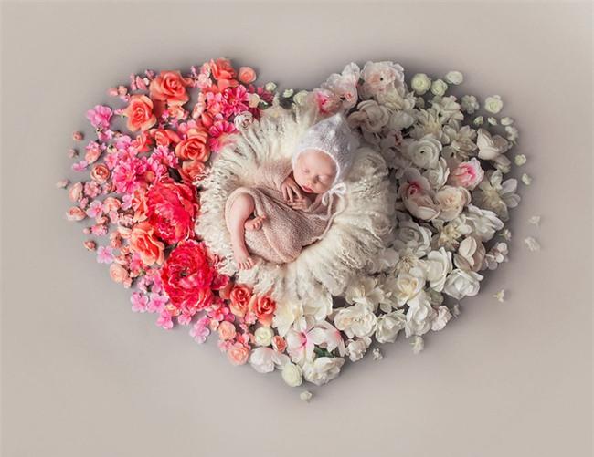 Ngất ngây với chùm ảnh những em bé sơ sinh cuộn tròn say ngủ - Ảnh 8.