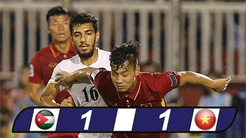 Hòa Jordan, Việt Nam về nhì ở vòng loại Asian Cup 2019