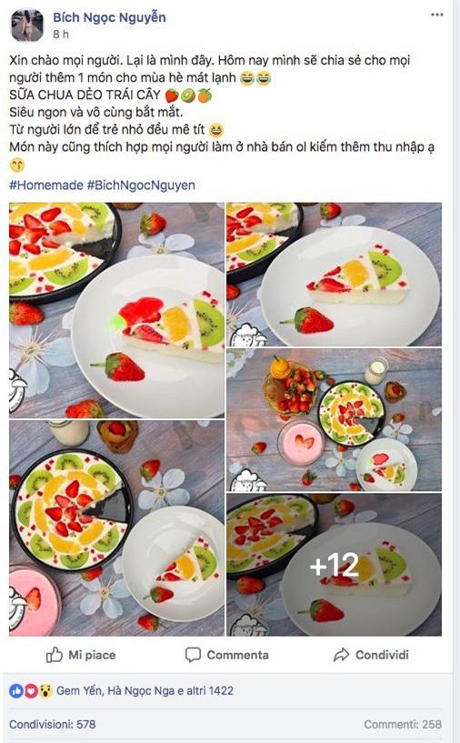 Công thức làm sữa chua dẻo trái cây đốn tim cộng đồng mạng của cô gái 9X xinh như hot girl - Ảnh 1.