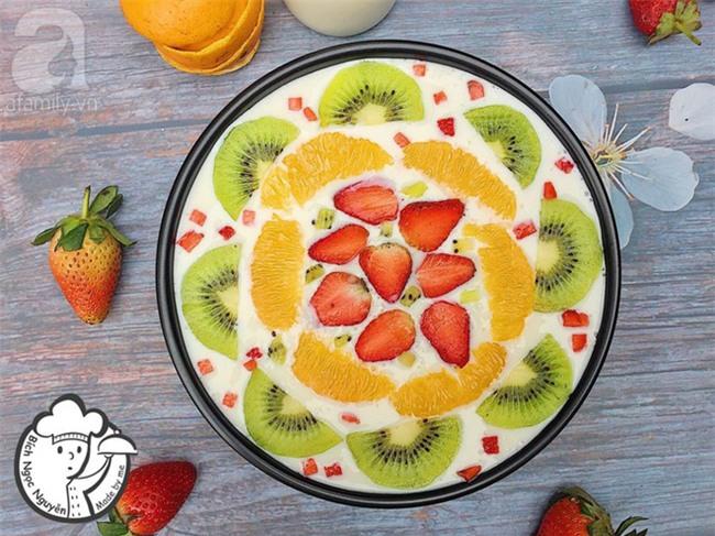 Công thức làm sữa chua dẻo trái cây đốn tim cộng đồng mạng của cô gái 9X xinh như hot girl - Ảnh 5.