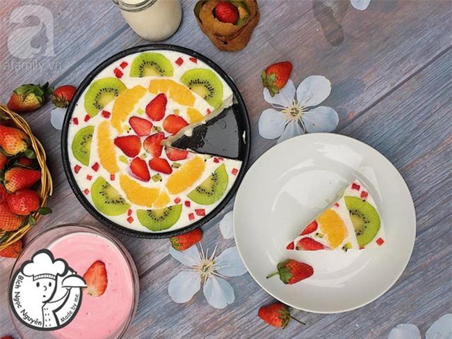 Công thức làm sữa chua dẻo trái cây đốn tim cộng đồng mạng của cô gái 9X xinh như hot girl - Ảnh 6.