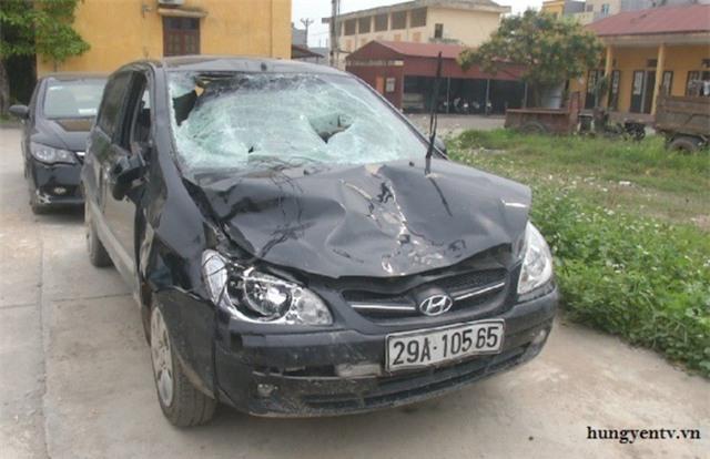 Sự thật bất ngờ vụ xe ô tô chủ tịch xã đâm học sinh tử vong - Ảnh 1.