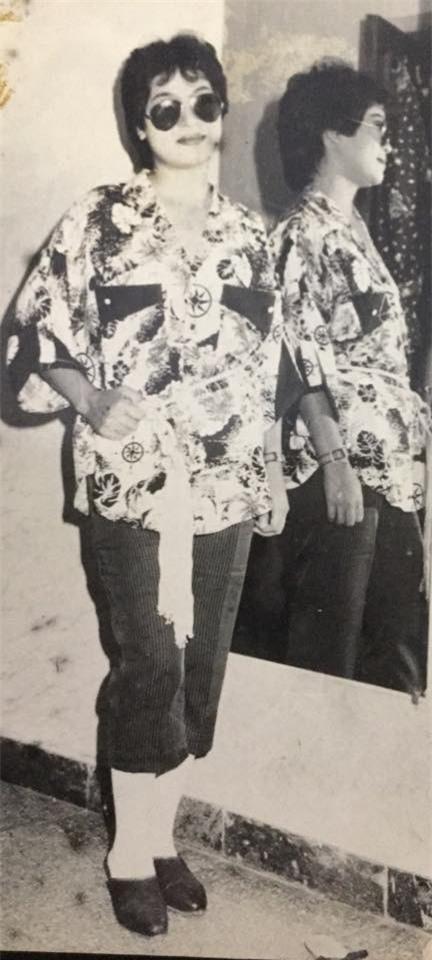Loạt ảnh thời trẻ của diễn viên hài Minh Vượng: Vóc dáng mảnh mai, ăn mặc sexy - Ảnh 9.