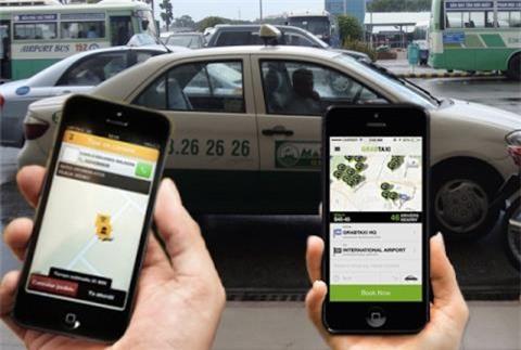 uber,grab,luật cạnh tranh,taxi truyền thống,kinh tế chia sẻ