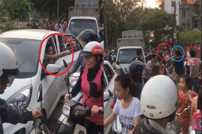 Clip: Đỗ ô tô chắn giữa đường để ăn mít, nhóm thanh niên còn lao vào đánh người khi bị nhắc nhở - Ảnh 2.
