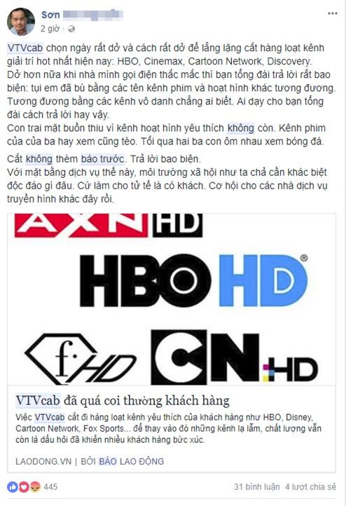 Người xem VTVcab bức xúc trước sự biến mất của 23 kênh truyền hình: Không ai nhận được bất kì thông báo nào cả! - Ảnh 4.