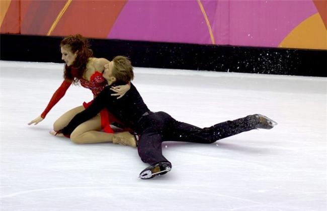 Những biểu cảm 'khó đỡ' trong môn trượt băng nghệ thuật trên Thế Giới - Ảnh 11.