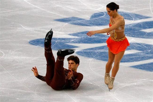 Những biểu cảm 'khó đỡ' trong môn trượt băng nghệ thuật trên Thế Giới - Ảnh 5.