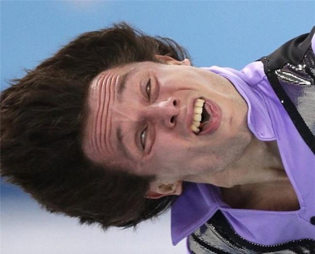 Những biểu cảm 'khó đỡ' trong môn trượt băng nghệ thuật trên Thế Giới - Ảnh 7.