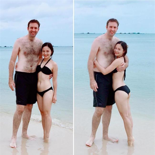Hình ảnh Lan Phương nhỏ bé nhưng luôn hạnh phúc bên chồng Tây cao 2m - Ảnh 7.