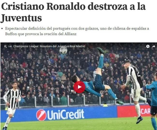 Ronaldo hủy diệt Juventus: Bật nhảy phi thường 2,3m, siêu phẩm từ khổ luyện - 7