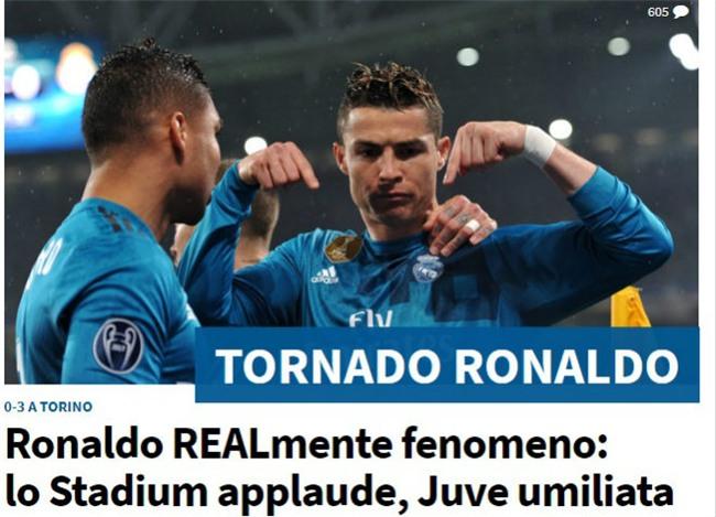 Ronaldo hủy diệt Juventus: Bật nhảy phi thường 2,3m, siêu phẩm từ khổ luyện - 8