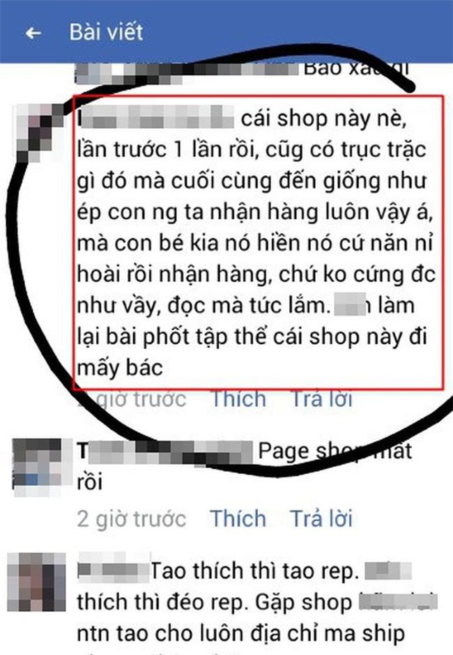 Cô gái căng thẳng không dám đi học vì mới inbox hỏi tư vấn mua áo online đã bị chủ shop tố chuyên lừa đảo và bùng hàng ở TP. HCM - Ảnh 10.
