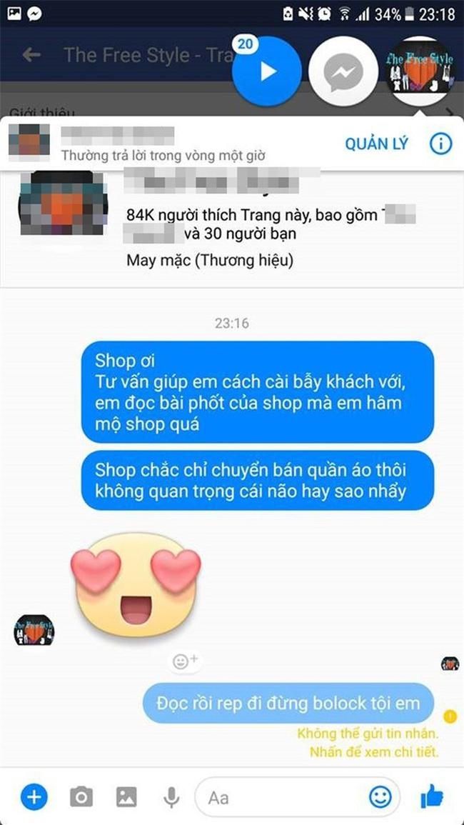 Cô gái căng thẳng không dám đi học vì mới inbox hỏi tư vấn mua áo online đã bị chủ shop tố chuyên lừa đảo và bùng hàng ở TP. HCM - Ảnh 11.