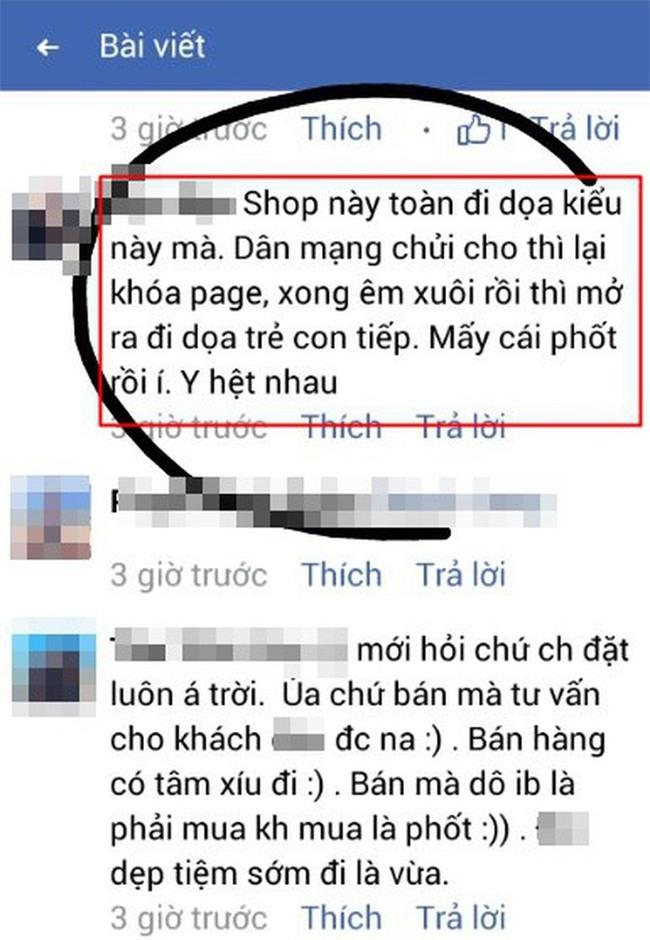 Cô gái căng thẳng không dám đi học vì mới inbox hỏi tư vấn mua áo online đã bị chủ shop tố chuyên lừa đảo và bùng hàng ở TP. HCM - Ảnh 9.