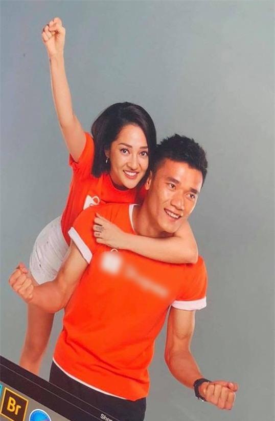 Hé lộ hình ảnh chụp quảng cáo được cho là đã kết đôi Bảo Anh và Bùi Tiến Dũng - Ảnh 1.