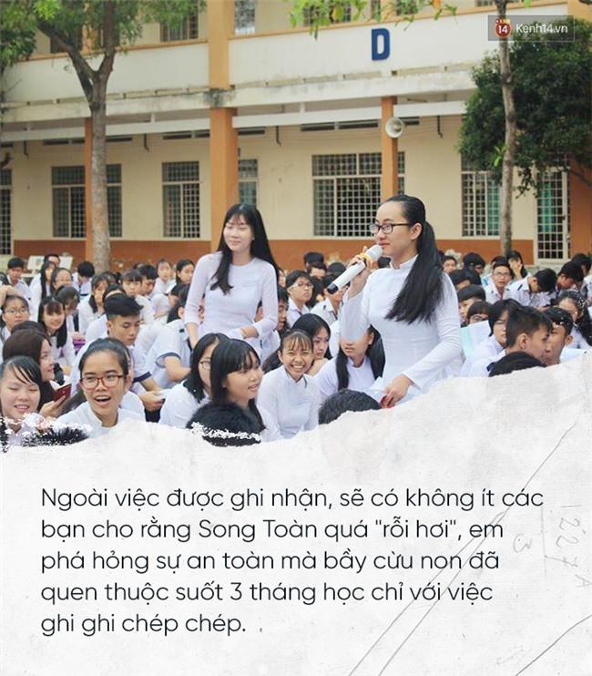 Những điều tuyệt vời mà Song Toàn để lại cho THPT Long Thới sau khi chuyển trường vì cô giáo im lặng - Ảnh 2.