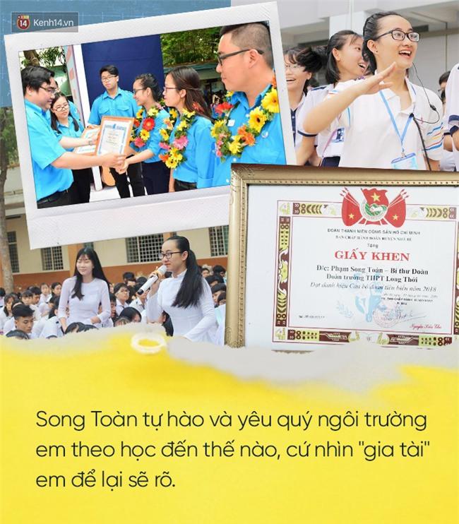 Những điều tuyệt vời mà Song Toàn để lại cho THPT Long Thới sau khi chuyển trường vì cô giáo im lặng - Ảnh 6.