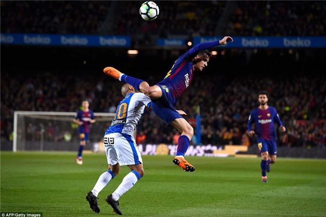 Barca 3-1 Leganes: Messi lập hat-trick, vươn lên dẫn đầu cuộc đua Giày vàng - Ảnh 4.