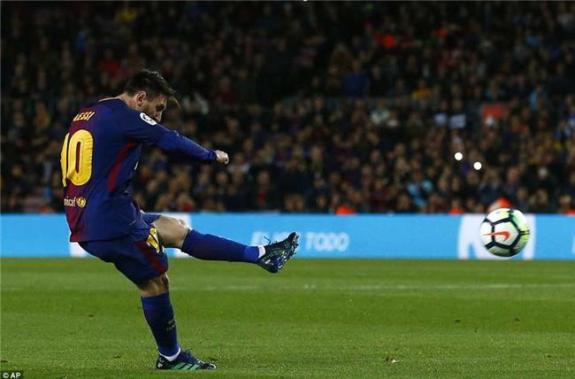 Barca 3-1 Leganes: Messi lập hat-trick, vươn lên dẫn đầu cuộc đua Giày vàng - Ảnh 5.