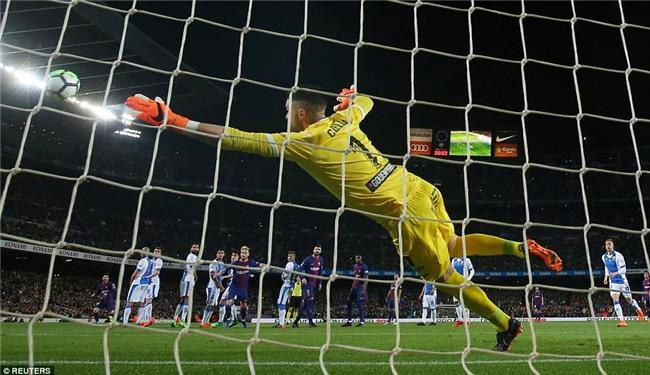 Barca 3-1 Leganes: Messi lập hat-trick, vươn lên dẫn đầu cuộc đua Giày vàng - Ảnh 6.