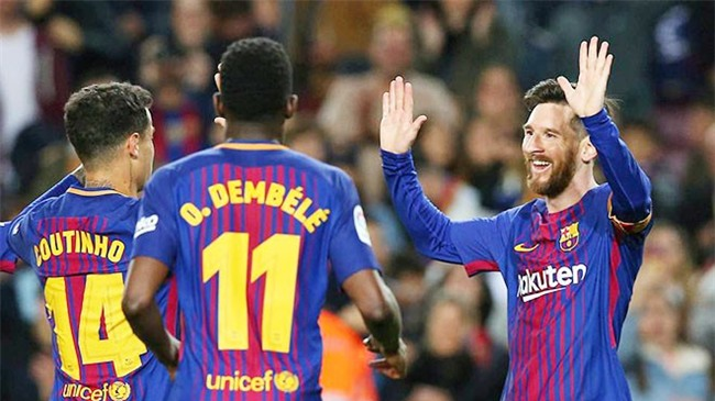 Barca 3-1 Leganes: Messi lập hat-trick, vươn lên dẫn đầu cuộc đua Giày vàng - Ảnh 7.