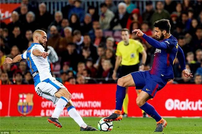 Barca 3-1 Leganes: Messi lập hat-trick, vươn lên dẫn đầu cuộc đua Giày vàng - Ảnh 8.