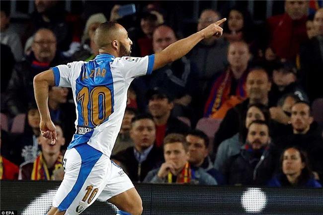 Barca 3-1 Leganes: Messi lập hat-trick, vươn lên dẫn đầu cuộc đua Giày vàng - Ảnh 9.