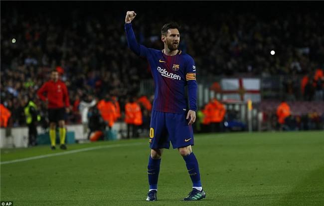 Barca 3-1 Leganes: Messi lập hat-trick, vươn lên dẫn đầu cuộc đua Giày vàng - Ảnh 11.