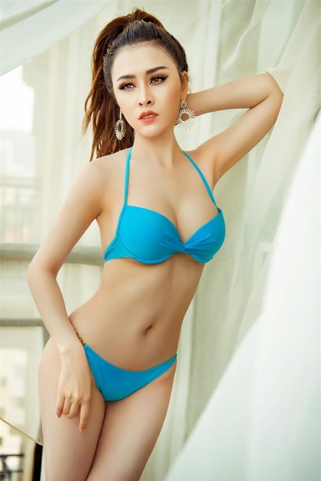 thu dung tung anh bikini truoc ngay len duong chinh phuc miss eco international 2018 hinh anh 4