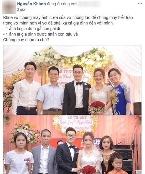 Một đám cưới hai tâm trạng chính là bức ảnh làm dậy sóng MXH hôm nay chứng minh: Ngày cưới chưa chắc ai cũng vui! - Ảnh 1.