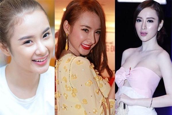 3 người đẹp sàn sàn tuổi Kỳ Duyên, Angela Phương Trinh và Nam Em: sau những nghi án thẩm mỹ liên tiếp, hiện giờ nhan sắc ra sao-11