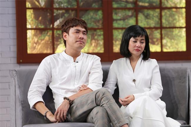 Kiều Minh Tuấn bật khóc: Tôi rất muốn có con với Cát Phượng - Ảnh 4.