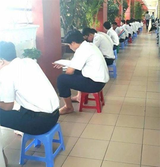 Ap luc hoc tap tai truong THCS va THPT Nguyen Khuyen nhu the nao? hinh anh 2