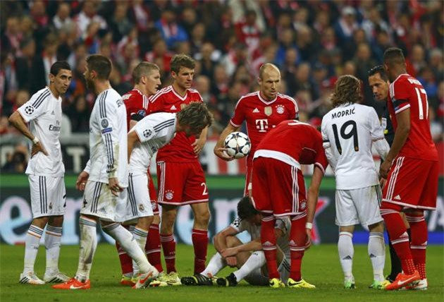 Tại bán kết Champions League 2014, Real Madrid thắng Bayern với tổng tỷ số 5-0
