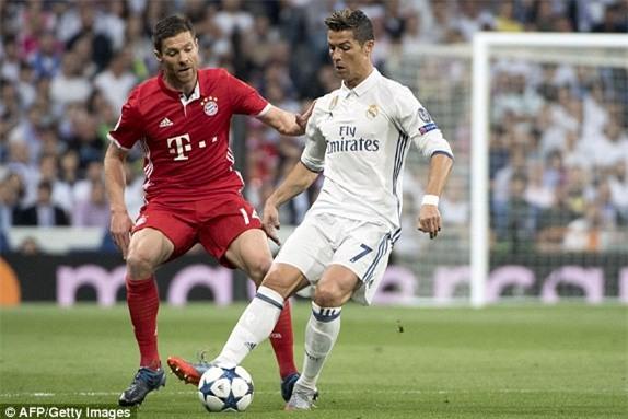 Ở tứ kết Champions League năm ngoái, Real Madrid thắng Bayern 6-3 sau hai lượt trận