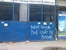 Ngân hàng thôn tính bất động sản