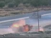 Quân nổi dậy tấn công xe tăng quân đội Syria