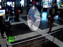Công bố video kẻ đánh bom tự sát ở sân bay Bulgaria